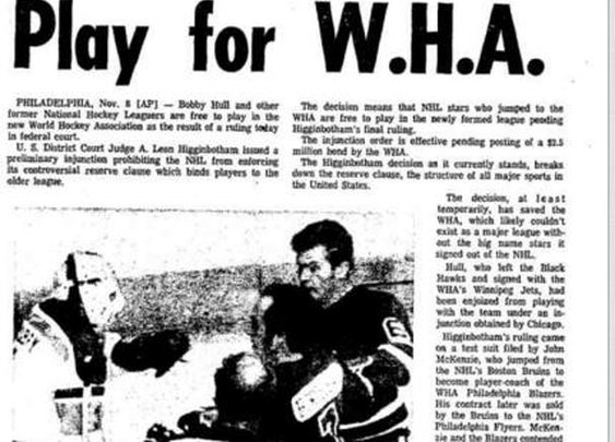 How A Beer Boycott Caused the NHL and WHA Merger   VICE Sports