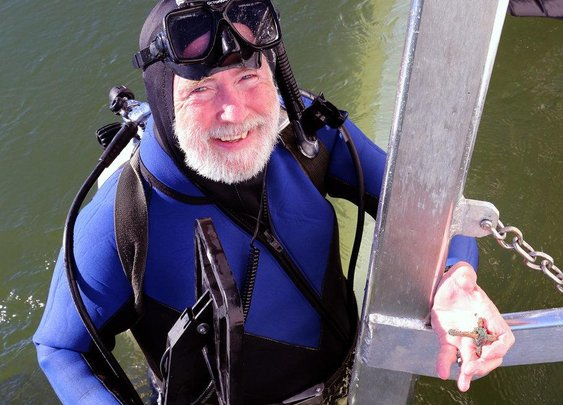 Meet the Adventurer Who Found Hundreds of Millions Worth of Sunken Treasure   VICE   United States