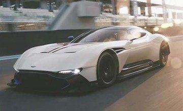 Aston Martin Vulcan Hits The Track