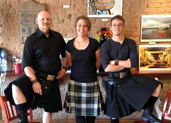 Kilts, Guns and Fish and Chips: What's not to like?