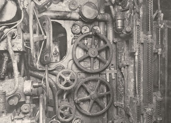 Photos From Inside A First World War German U-Boat (1918)