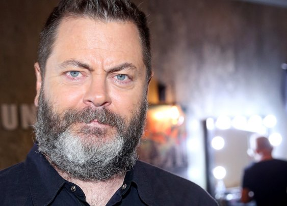 Nick Offerman Used Wood From the Parks & Rec Set to Make Canoe Paddles for His Parks & Rec Family