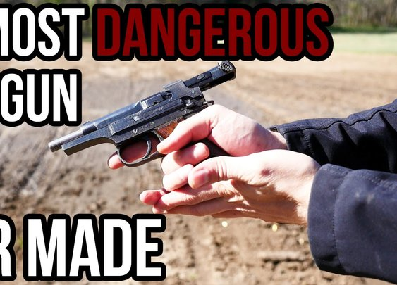 The Most Dangerous Pistol Ever Made - YouTube