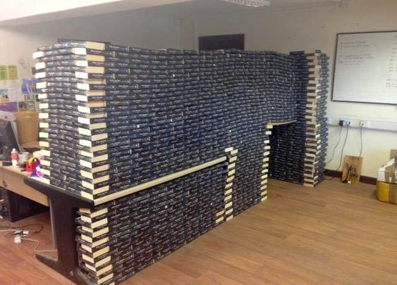 Book Fort: Used Copies of Fifty Shades of Grey