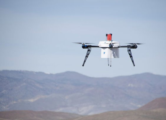The First Urban Drone Delivery Just Happened In Nevada   Popular Science
