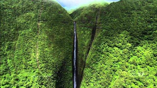 Molokai and Lanai Aerials