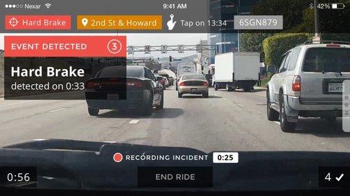 Nexar is more than a simple dashcam recording app
