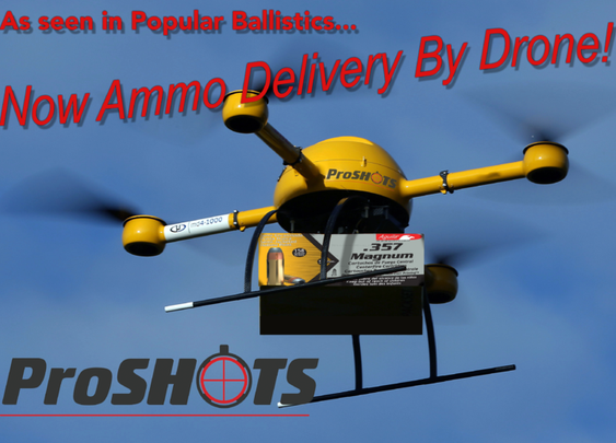 Drone Ammo Delivery!