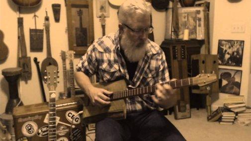 Stairway to Heaven on 3-String Cogar Box Guitar