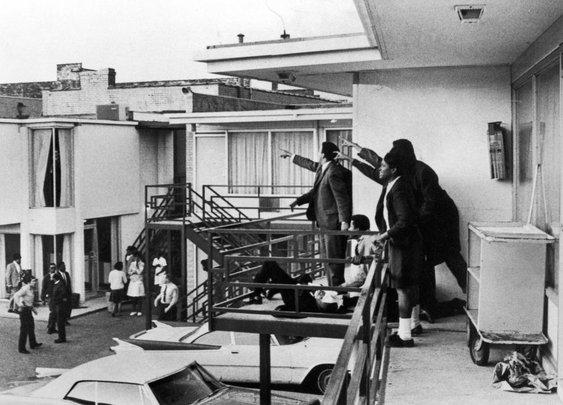 Joseph Louw's Photographs of Martin Luther King Jr.'s Assassination