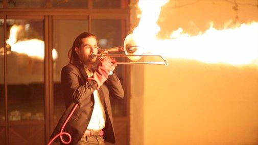 The Pyro-Trombone