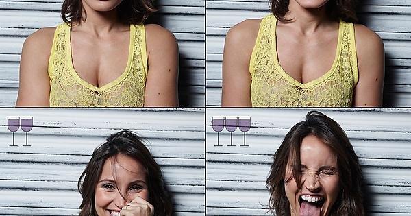 Portraits after 1, 2 & 3 glasses of wine - Album on Imgur