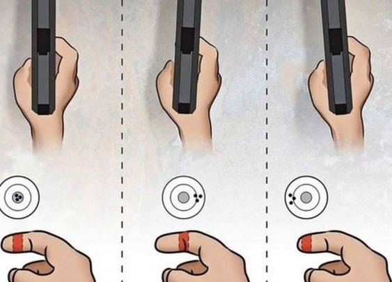 Graphics Show 10 Things Not Everyone Thinks About When Shooting a Pistol