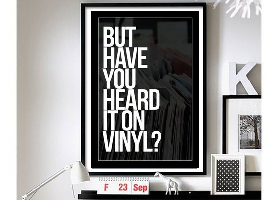 On Vinyl - Wall Art