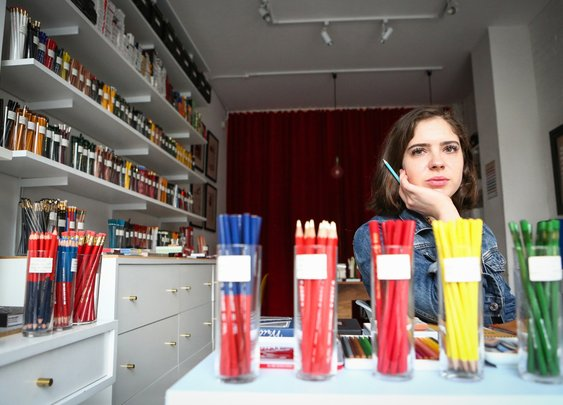This 25-Year-Old Is Turning a Profit Selling Pencils - Bloomberg