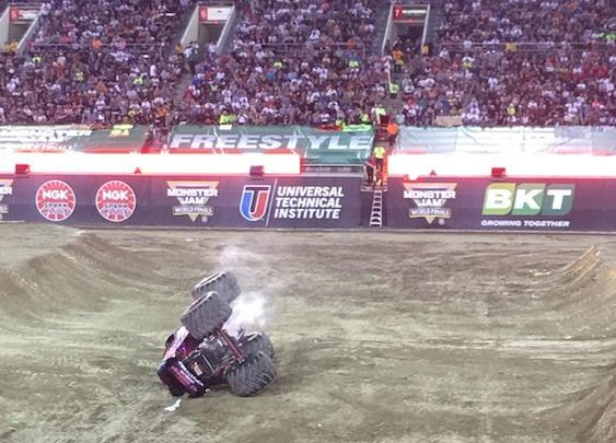 What I Learned At Monster Jam XVII, The Super Bowl Of Monster Trucks | VICE Sports