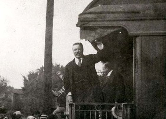 Teddy Roosevelt and the Kansas National Forest