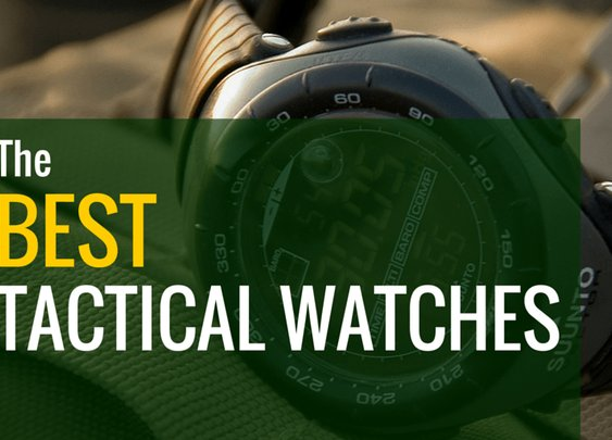 Best Tactical and Military Watches of 2016 - G Shock, Suunto, Etc