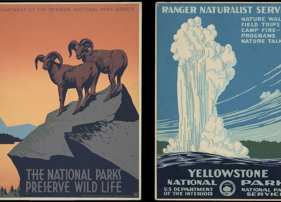 The Story Behind Those Gorgeous National Parks Posters From the 1930s | Travel & Leisure
