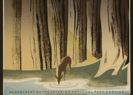 The Story Behind Those Gorgeous National Parks Posters From the 1930s | Travel   Leisure