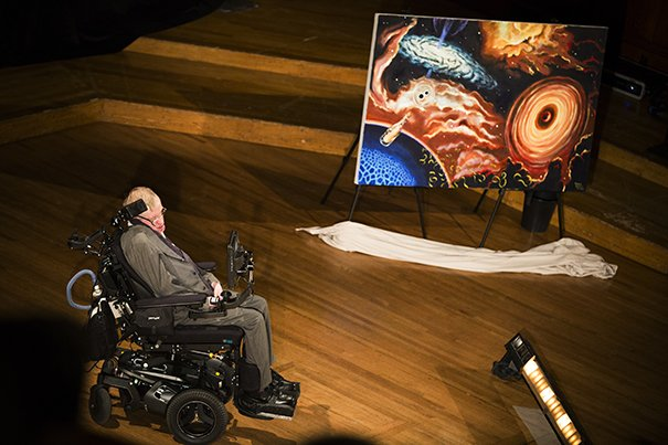Hawking at Harvard | Harvard Gazette