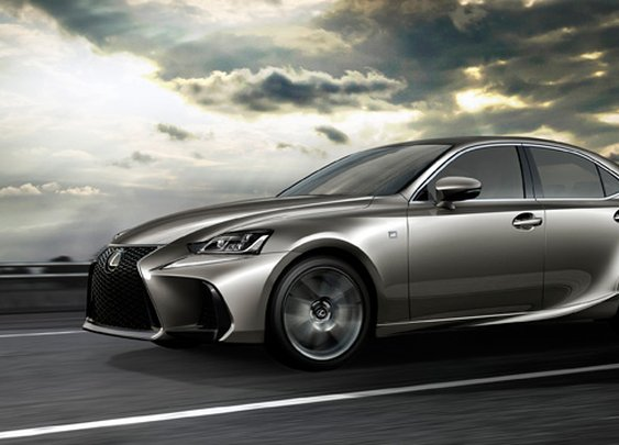 2017 Lexus IS Gets Facelift, Debuts at the 2016 Beijing Auto Show