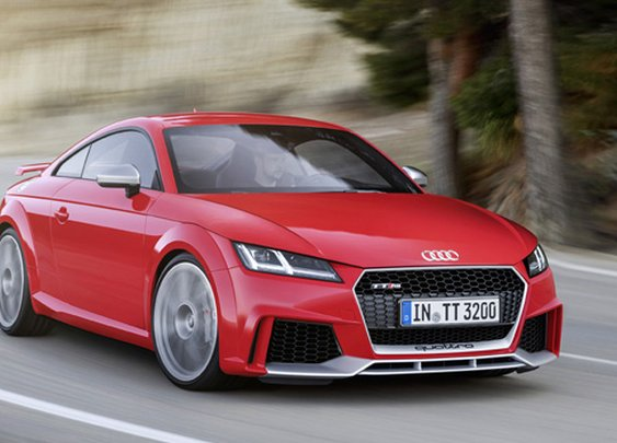 2017 Audi TT RS Brings The Heat With 400HP