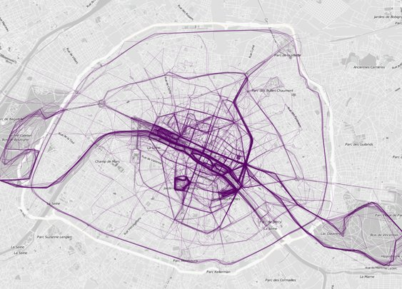 These Mesmerizing Maps of Where People Jog Reveal Something Telling About Major U.S. Cities