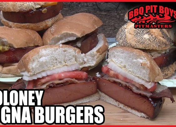 No Boloney Bologna Burgers