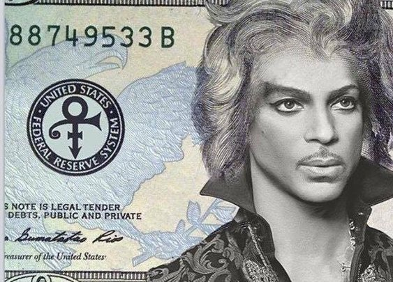 They should put Prince on the $20 bill and call it $19.99