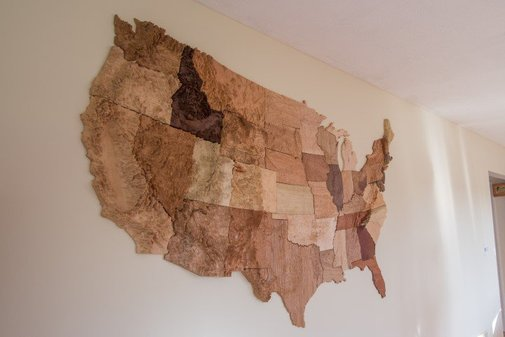 Convert Geological Information into a 3D printed Map