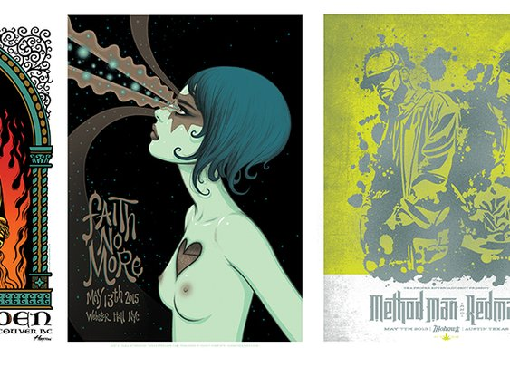 20 Contemporary Show Posters That Prove the Art Isn't Dead – Flavorwire