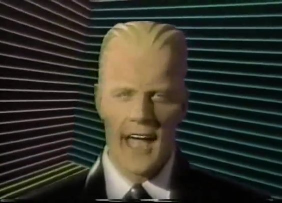 The Max Headroom TV Series Blasted the Future's Present From The Past | Den of Geek