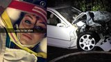 Passengers say 100 mph crash encouraged by Snapchat 'speed filter'