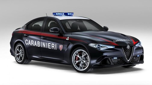The Italian police have a 503bhp Alfa Giulia QV   Top Gear