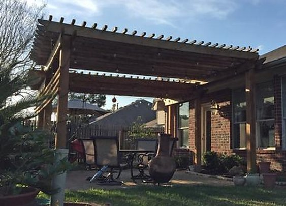 How to Build a DIY Cigar Pergola For the Backyard