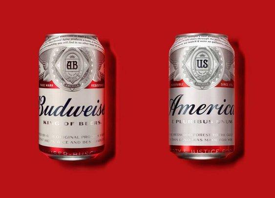 Not a joke: Budweiser will rename beer 'America'