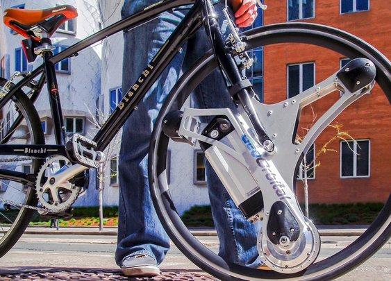 GeoOrbital Wheel - Make your bike electric in 60 seconds