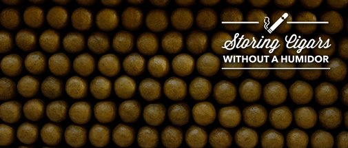 Storing Cigars Without a Humidor | Montecristo Social Club