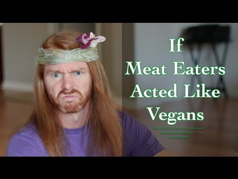 If Meat Eaters Acted Like Vegans - Ultra Spiritual Life episode 35 - YouTube