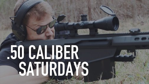 .50 CALIBER SATURDAYS - YouTube