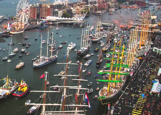 Port of Amsterdam - SAIL 2015 Timelapse