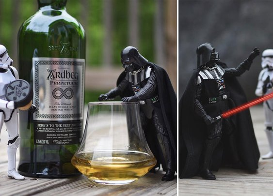 Photographer Combines Love For Storm Troopers And Whiskey In Hilarious Series