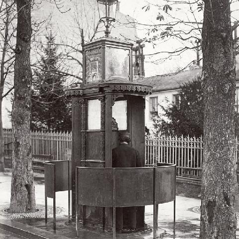 Luxurious Memories Of Pissing In Paris Urinals (1878 Photos) - Flashbak