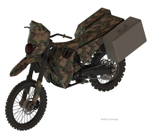 American Special Forces Have A New Stealth Motorcycle