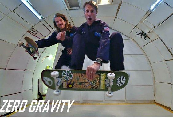 "ZeroG | Tony Hawk and Aaron ""Jaws"" Homoki | Sony - YouTube"