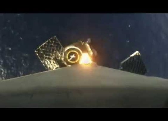First-stage landing | Onboard camera - YouTube