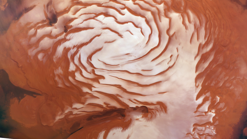 Mars is coming out of an ice age, study shows - Technology & Science - CBC News