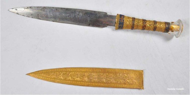 King Tut's Blade Made of Meteorite