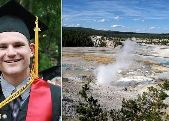 Man dies after falling into an acidic hot spring in Yellowstone National Park | Daily Mail Online